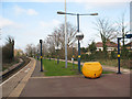 TQ2565 : Sutton Common station: northern end by Stephen Craven
