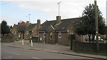 TF0920 : BUC almshouses, West street - the gateway by Bob Harvey