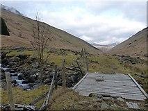 NN2318 : Track in Glen Fyne by Richard Law