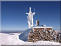 NJ0003 : Weather Station, Cairn Gorm by wfmillar