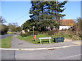 TM3968 : Footpath to Littlemoor Road & North Green by Adrian Cable