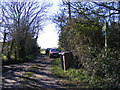 TM3770 : Footpath to Sibton Green by Adrian Cable