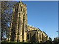 NZ2079 : St Mary the Virgin at Stannington by M J Richardson