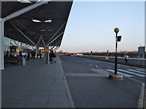TL5523 : Drop off area, London Stansted Airport by Chris Whippet