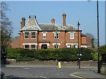 TQ1649 : Westfield, West Street, Dorking by Robin Webster