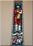 SU6400 : St. Faith's, Landport: stained glass window (1) by Basher Eyre