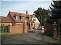 SP1570 : New house, Spring Lane by Robin Stott