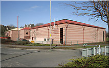 NT5015 : The Teviotdale Leisure Centre, Hawick by Walter Baxter