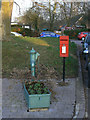 SP2557 : Hampton Lucy pump and postbox by Alan Murray-Rust