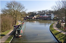 SP6989 : Grand Union Canal - Foxton Junction by Ashley Dace