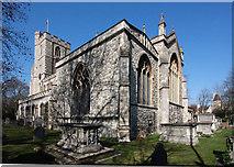 TQ2475 : All Saints, Fulham High Street by John Salmon