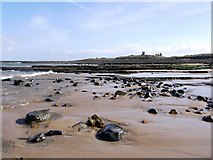 NU2422 : South end of Embleton Bay by Andrew Curtis
