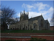 TF4066 : The parish church of St James Spilsby by Richard Hoare