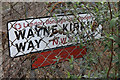 TQ2485 : Wayne Kirkum Way by Martin Addison