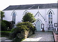 SW8735 : Portscatho United church. by ROWLAND TURNER