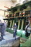 SK3588 : Sheffield Industrial Museum - the River Don engine by Chris Allen