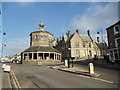 NZ0516 : The Butter Market, Barnard Castle by Bill Henderson