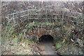 SO4778 : Culvert under the railway by N Chadwick