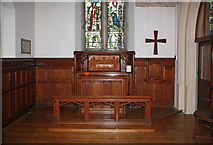 TQ4094 : St John the Baptist, Buckhurst Hill - North chapel by John Salmon