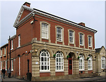 SK5319 : Loughborough - old court house by Dave Bevis