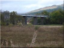 NN3825 : West Highland Line bridge, Crianlarich by Rob Newman