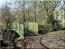 TQ2688 : Bridge over Mutton Brook by Robin Webster