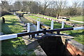 SK3973 : Chesterfield Canal - Wheeldon Mill Lock by Ashley Dace