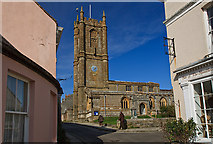 ST6601 : St Mary's church, Cerne Abbas by Mike Searle