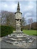 NT3366 : 17thC sundial, Newbattle Abbey by kim traynor
