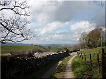 SD4983 : Footpath to Leasgill by Karl and Ali