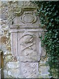 NT3366 : 17thC mural monument, Newbattle by kim traynor