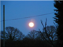 TM3667 : Super Moon at Sibton by Adrian Cable