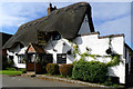 SP7330 : The Thatched Inn and Restaurant, Adstock by Cameraman