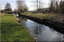 SU6168 : Ufton Lock by Bill Nicholls