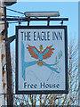 TR3141 : The Eagle Inn sign by Oast House Archive