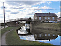 SJ6899 : Marsland Green Bridge, Bridgewater Canal by David Dixon