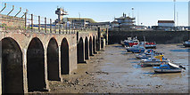 TR2335 : Viaduct over outer harbour by Oast House Archive