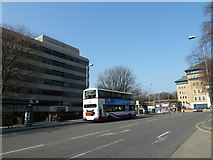 SU4112 : Bus in Wyndham Place by Basher Eyre