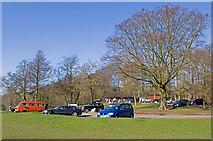 TQ2652 : Wray Lane car park by Ian Capper