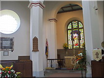 SK2375 : Interior of St. Martin's, Stoney Middleton by nick macneill