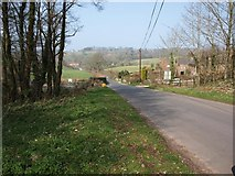 SX8878 : The road past Wapperwell by David Gearing