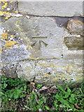 ST9929 : Bench Mark, Longs Farm by Maigheach-gheal