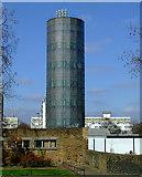 TQ2977 : Churchill Gardens accumulator tower by Thomas Nugent