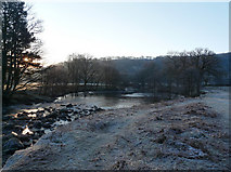 SH7357 : Afon Llugwy near Capel Curig by Gareth Jones