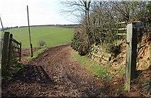 ST0104 : Track, Highdown by Derek Harper