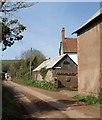 ST0104 : Lane past Champerhaies by Derek Harper
