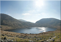 NY3412 : Grisedale Tarn Wide-Angle by Gareth Jones