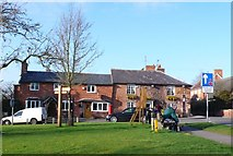 SP1452 : Bell Inn Welford by Nigel Mykura