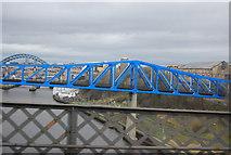 NZ2463 : QE II Bridge, south pier by N Chadwick