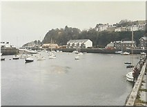 SH5638 : Porthmadog harbour in 1987 by John Baker